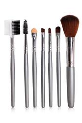 7'li Deri Çantalı Fırça Seti - Thumbnail