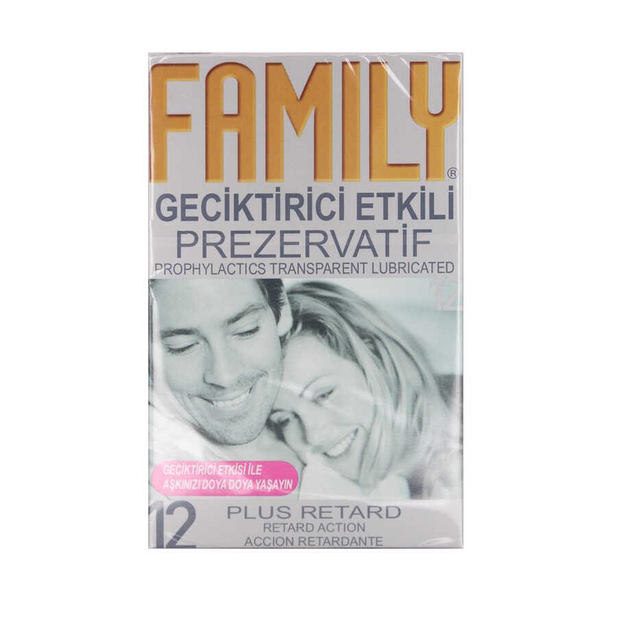 Family Geciktirici Etkili Prezervatif 12 Adet