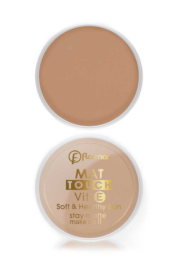 Flormar Mat Touch Compact Pudra 1