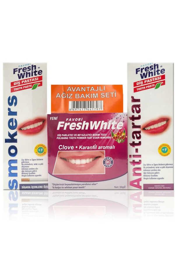 Fresh White Ağız Ve Diş Bakım Seti Karanfili