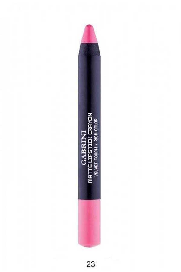 Gabrini Matte Lipstick Crayon 13-24
