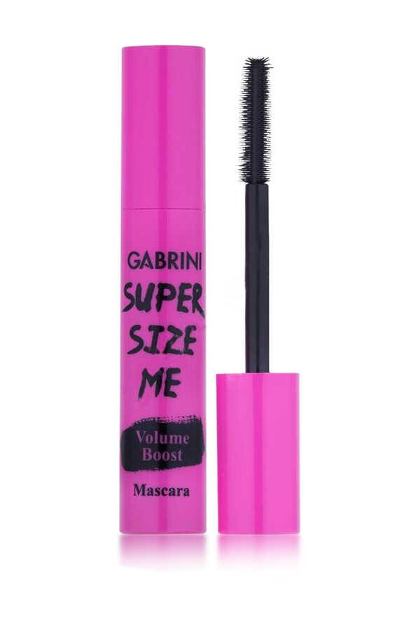 Gabrini Super Size Me Pembe Ambalajlı Kirpik Çoğaltıcı Maskara 10 mL