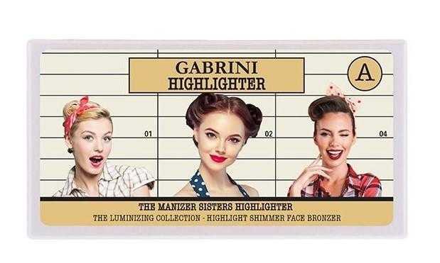 Gabrini The Manizer Sisters 3 lü Aydınlatıcı Paleti