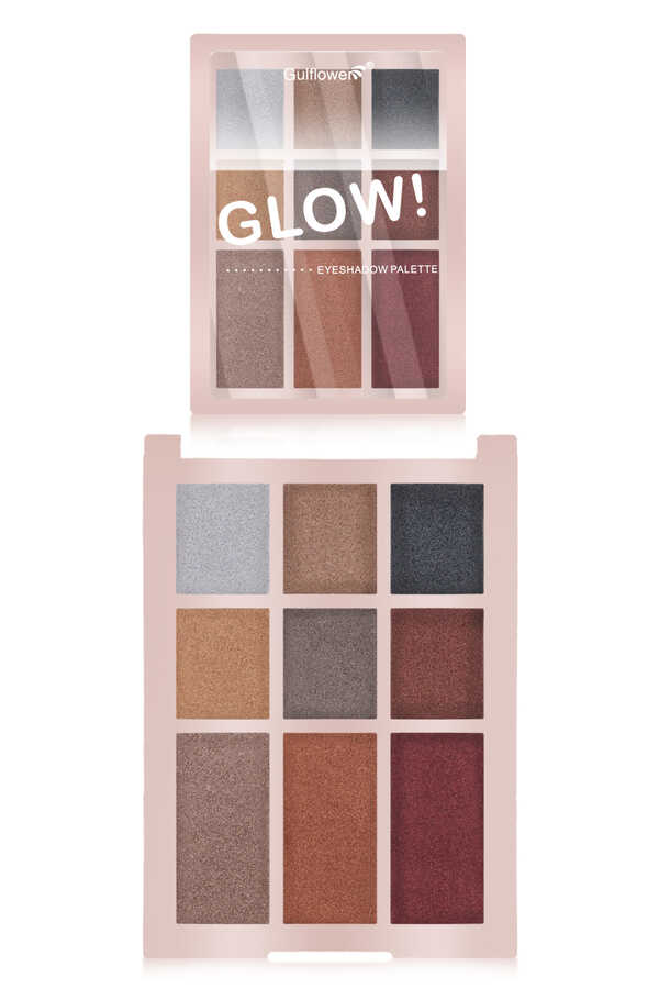 Gulflower Glow 9 lu Far Paleti 01 GF075
