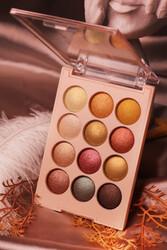 Iman Of Noble 12 li Renk Dünyası Sedefli Far Paleti No 2 - Thumbnail