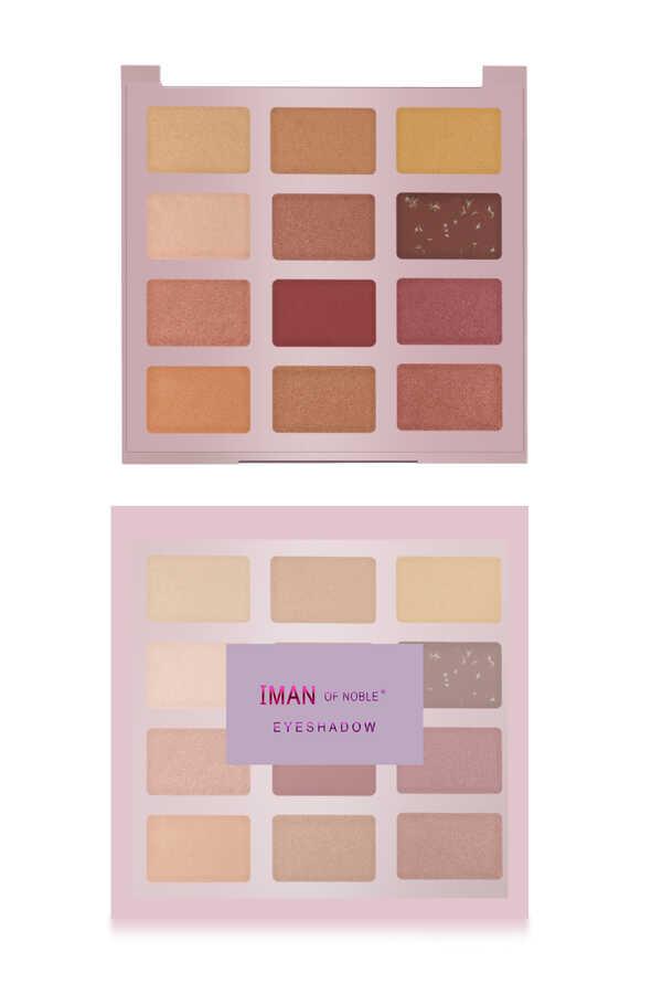 Iman Of Noble 12 li Rosy Brown Far Paleti No 3