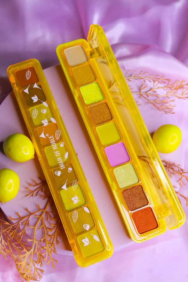 Iman Of Noble 9 lu Sarı Ambalajlı Far Paleti