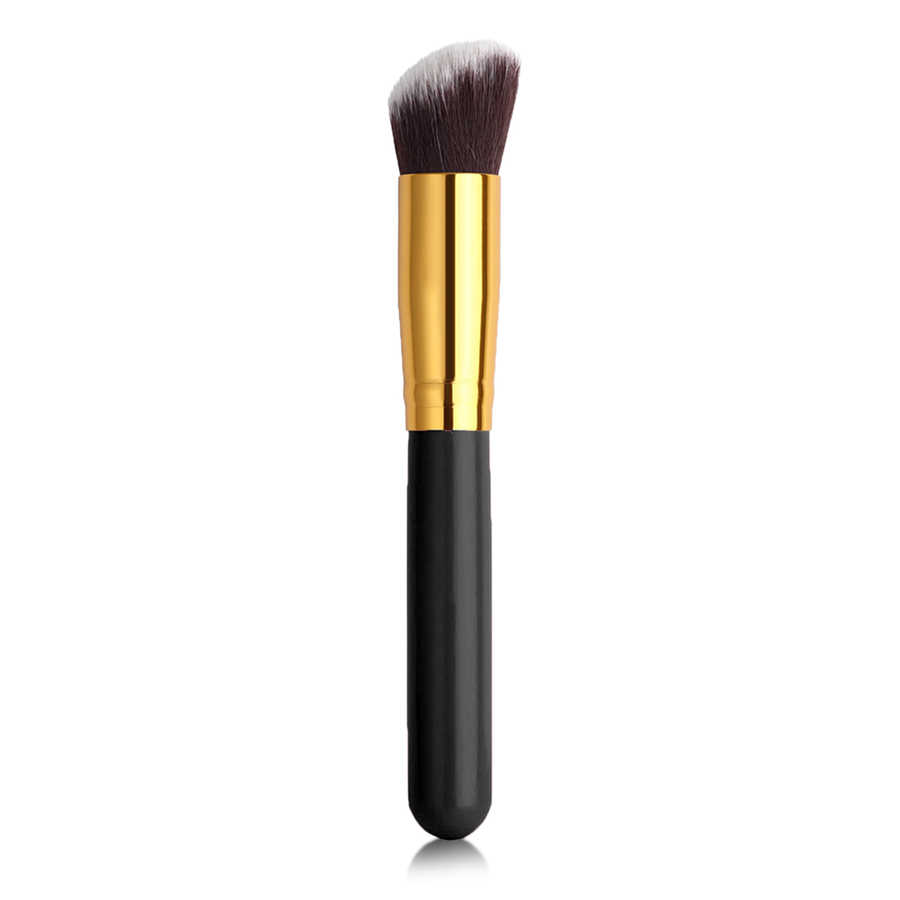 İzla 10 lu Makyaj Fırça Seti Siyah Renk