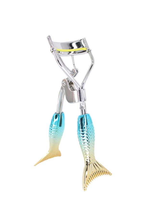 İzla Parlak Balık Turkuaz Sarı Uçlu Kirpik Kıvırıcı