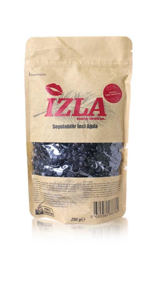 İzla Soyulabilir Granül Ağda 250 gr Siyah