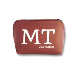 MT Deri Makyaj Çantası Bordo Renk - Thumbnail