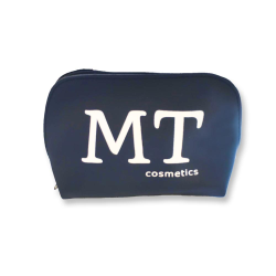 MT Deri Makyaj Çantası Lacivert - Thumbnail