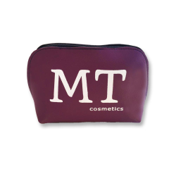 MT Deri Makyaj Çantası Mor Renk - Thumbnail