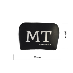 MT Deri Makyaj Çantası Siyah Renk - Thumbnail