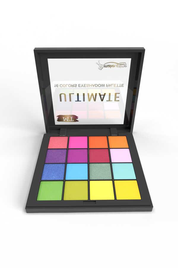 MT Ultimate 16 lı Renkli Far Paleti No : 02