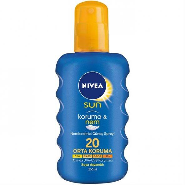 NIVEA SUNSHINE LOVE GÜNEŞ KREMİ 200 ML