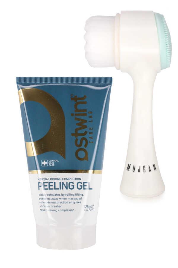 Ostwint Peeling Jel Ve Yüz Temizleme Fırçası Seti