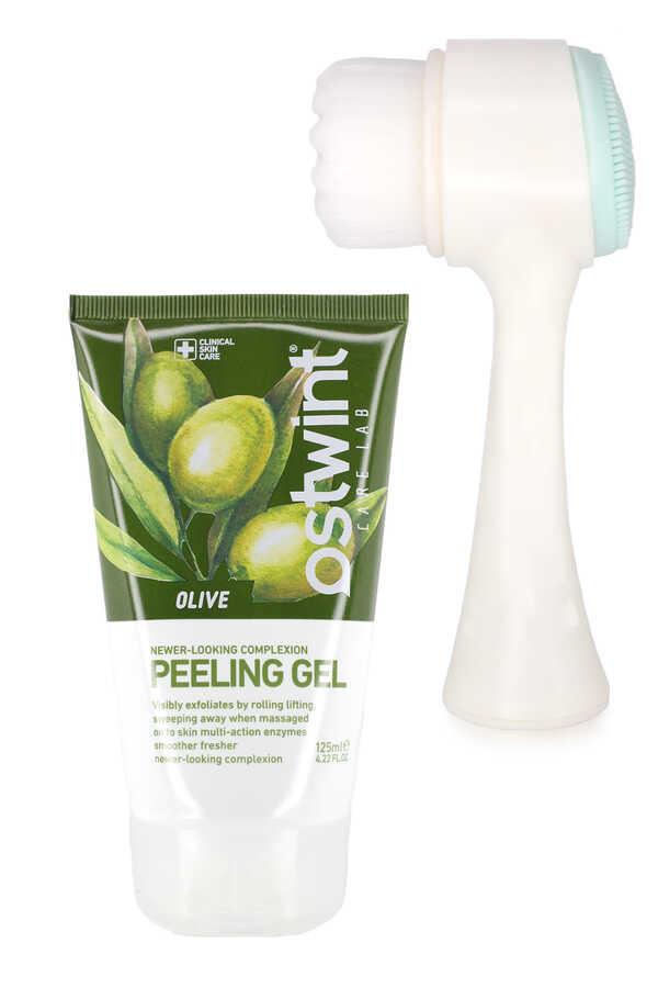 Ostwint Zeytinyağı Özlü Peeling Jel Ve Yüz Temizleme Fırçası